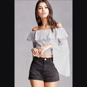 NWT Forever 21 Off the shoulder top
